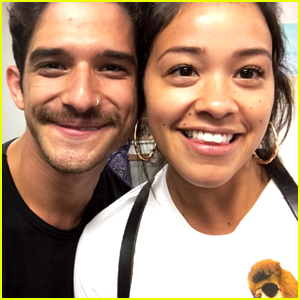 Tyler Posey Snaps Cutest Pic with 'Jane The Virgin' Co-star Gina Rodriguez
