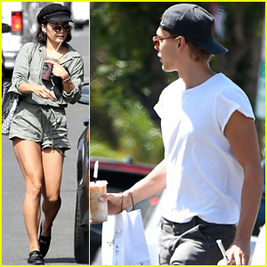 Vanessa Hudgens & Austin Butler Make Separate Friday Outings