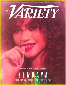 Zendaya Recalls Insane Paparazzi Chase With Tom Holland in 'Variety's Power of Youth Issue