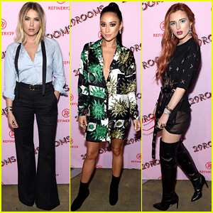 Ashley Benson & Shay Mitchell Have 'Pretty Little Liars' Reunion at Star-Studded 29Rooms Event!