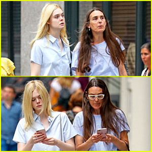 Elle Fanning & Her Mom Are Two Peas in a Pod