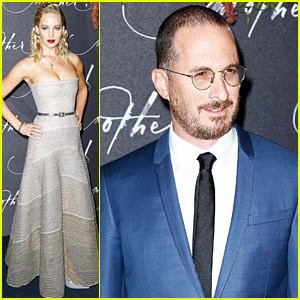 Jennifer Lawrence & Boyfriend Darren Aronofsky Take 'mother!' to Paris!