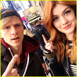 Will Tudor Took Gorgeous New Pics of Katherine McNamara & Fans Are Freaking Out