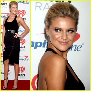 Kelsea Ballerini Wows in Black Bodysuit & Skirt at iHeartRadio Music Festival