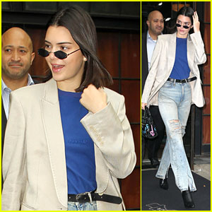Kendall Jenner Sports a Stylish Blazer While Stepping Out in NYC!