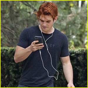 KJ Apa Seen for First Time Since News of Car Accident