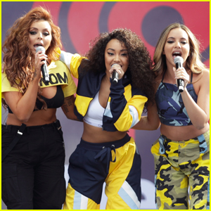 Little Mix Performs Without Perrie Edwards After She's Rushed to the Hospital