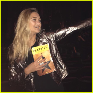 Lizzy Greene Will Forever Be In Love With 'Hamilton' (Exclusive)