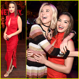 'Alexa & Katie's Paris Berelc & Isabel May Party It Up at Netflix's Emmys Celebration