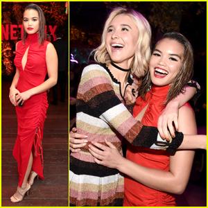 'Alexa & Katie's Paris Berelc & Isabel May Party It Up at Netflix's Emmys Celebration