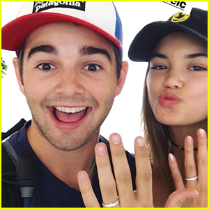 Jack Griffo & Paris Berelc Get Fake Married During Weekend Vegas Trip