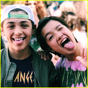 Peyton Elizabeth Lee Had The Sweetest Birthday Message For 'Andi Mack' Co-star Asher Angel