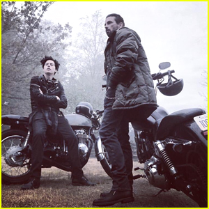 Cole Sprouse & Skeet Ulrich Look Tough as Southside Serpents in This BTS 'Riverdale' Pic