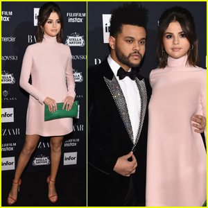 Selena Gomez & The Weeknd Couple Up at 'Harper's Bazaar' Party!