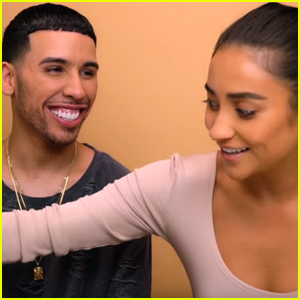 Shay Mitchell Films a Makeup Tutorial With Ariel Tejada & He Tears Her Apart