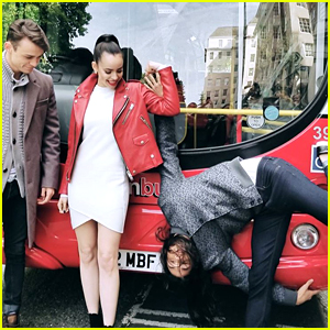 Sofia Carson, Booboo Stewart & Thomas Doherty Take Over London For 'Descendants 2' Promo