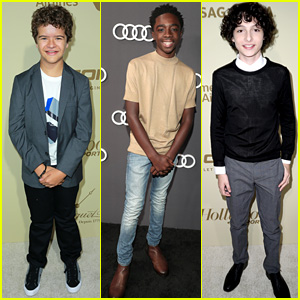 Stranger Things' Gaten Matarazzo, Caleb McLaughlin, & Finn Wolfhard Gear Up for Emmys!