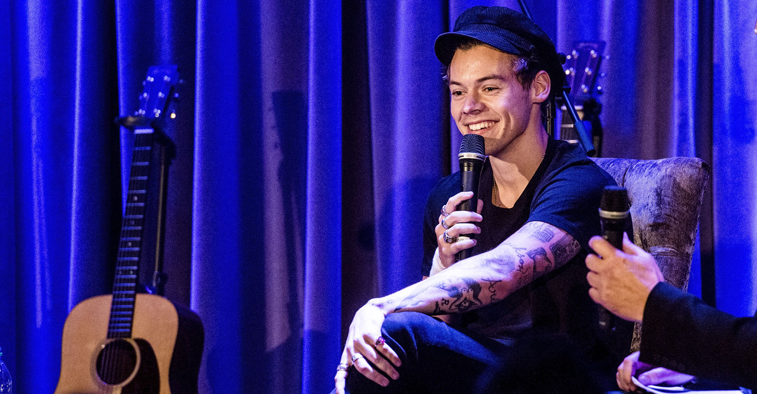 Harry styles explains why from the dining table is his for Dining table harry styles