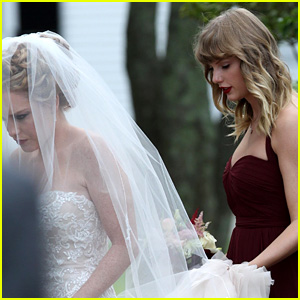 Taylor Swift Gave a Speech Involving a Bathroom at Abigail Anderson's Wedding