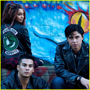 Vanessa Morgan Wears Her Southside Serpent Jacket Proud as Toni Topaz In New 'Riverdale' Pic