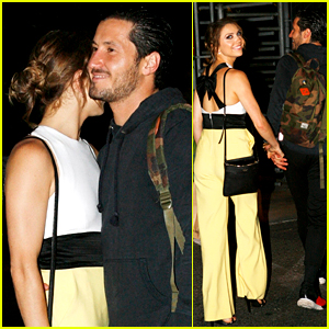 Val Chmerkovskiy & Jenna Johnson Grab Dinner Together After DWTS & SYTYCD