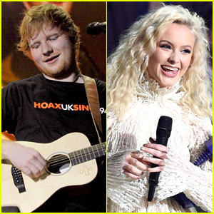 Zara Larsson Explains What It's Like Working With Ed Sheeran