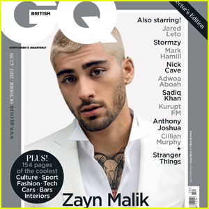 Zayn Malik Shows Off Blonde Hair on British 'GQ' Cover