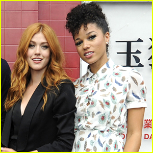 Katherine McNamara & Alisha Wainwright Are Proud of 'Shadowhunters' Repping Strong Female Leads