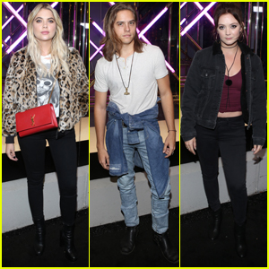 Ashley Benson, Dylan Sprouse & Billie Lourd Party With American Eagle!