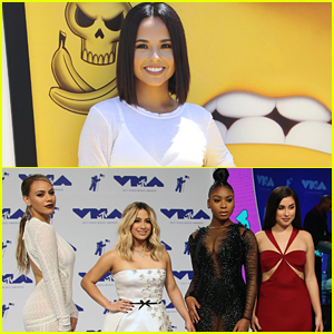 Becky G Mistaken For Fan & Dragged Off Stage During Her Concert with Fifth Harmony