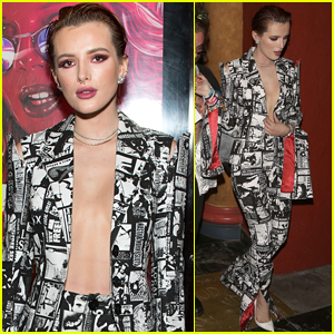 Bella Thorne Leaves Little to the Imagination at 'The Babysitter' Premiere!