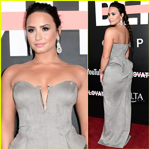 Demi Lovato Goes Glam for Her 'Simply Complicated' Premiere!