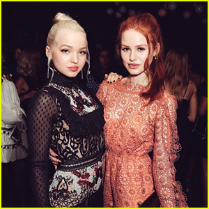 Madelaine Petsch is Going as Dove Cameron's Mal For Halloween!