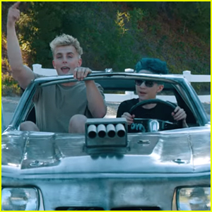 Jake Paul Stars in Dynamite Dylan's New Music Video 'No Competition' - Watch!