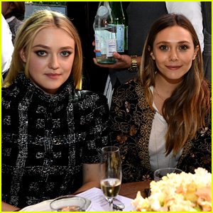 Dakota Fanning & Elizabeth Olsen Are Very Good Girls at Tribeca Event!