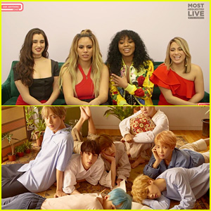 Fifth Harmony Reveal Their Love for BTS - And Ally Brooke Wants a Collab!