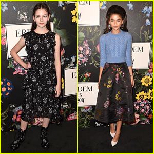 Zendaya, Mackenzie Foy & More Hit the Red Carpet at H&M x Erdem Party!
