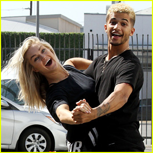 Jordan Fisher & Lindsay Arnold Have Impromptu Parking Lot Dance Sesh!