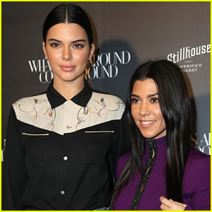 Kendall Jenner Joins Kourtney Kardashian at an Event in Beverly Hills!