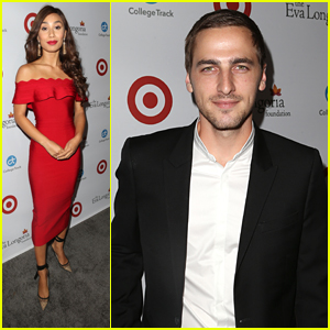 Kendall Schmidt Joins Eva Gutowski at The Eva Longoria Foundation Dinner in LA