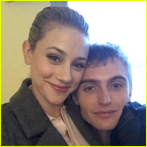 Lili Reinhart Shares New Pics of On-Screen Brother Hart Denton From 'Riverdale' Set