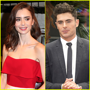 Lily Collins To Play Zac Efron's Girlfriend in Ted Bundy Biopic