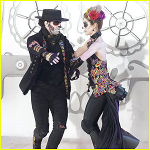 Lindsey Stirling Dances To Her Own Song with Mark Ballas on DWTS Season 25 Halloween Night (Video)