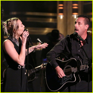 Miley Cyrus Joined By Adam Sandler For Tribute to Las Vegas Tragedy