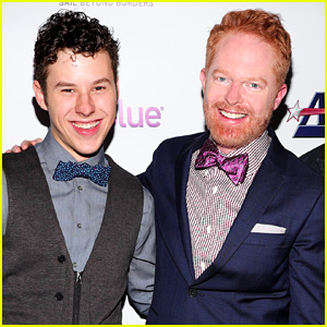 Nolan Gould Supports Jesse Tyler Ferguson at Tie The Knot 5-Year Anniversary Party