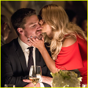 Emily Bett Rickards & Stephen Amell Tease Olicity's Future on 'Arrow': 'They Are Back Together'