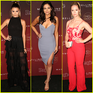 Olivia Jade Gets Support From Bethany Mota & Alisha Marie at People's Ones To Watch Party