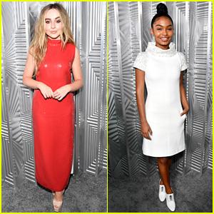 Sabrina Carpenter & Yara Shahidi Go Glam for Elle's Women in Hollywood Celebration