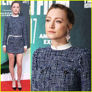 Saoirse Ronan Premieres 'On Chesil Beach' at BFI London Film Festival