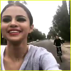 Selena Gomez Surprises Fans After School - Watch Now!